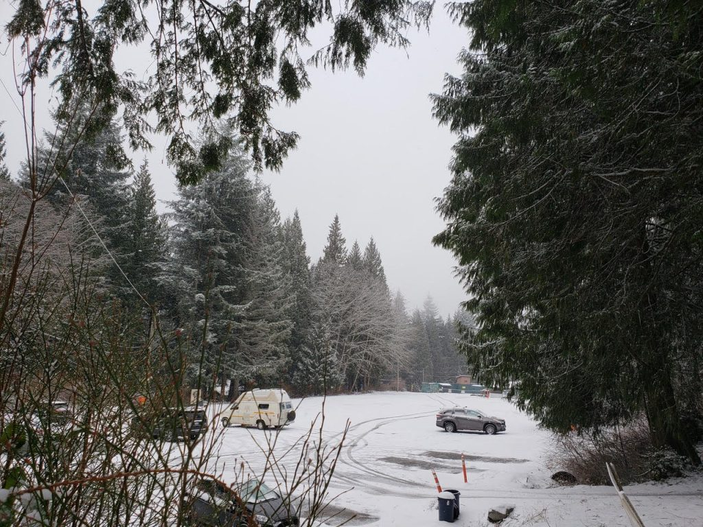 We Still Have Lot Of Snow On Ground But >> Snow Up On Burke Mountain Sunday Feb 2 2019 Port Coquitlam